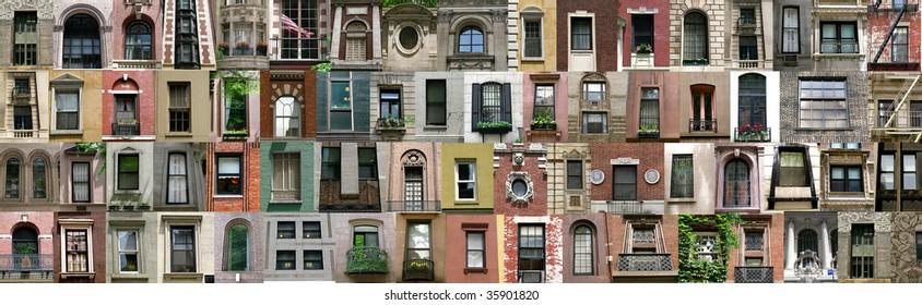 Compilation of windows (New York, America)