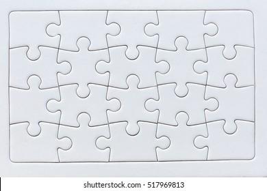 puzzle completo de veinte piezas