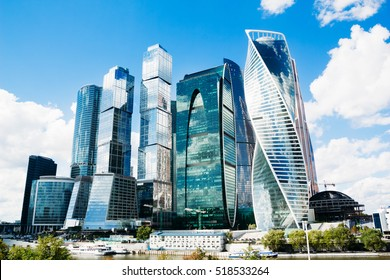"The complex of buildings ""Moscow City"""