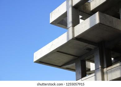 Complex concrete structure
