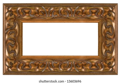 Complex picture frame, cut out