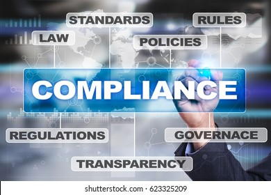 Compliance business concept.