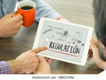 COMPLIANCE LAW LEGAL RULES AND REGULATIONS CONCEPT