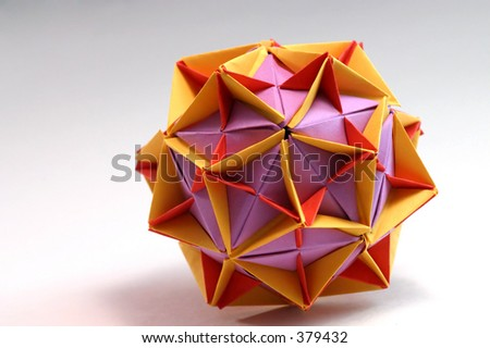 Complicated Origami Ball Stock Photo Edit Now 379432 Shutterstock