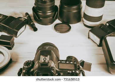 components of the camera