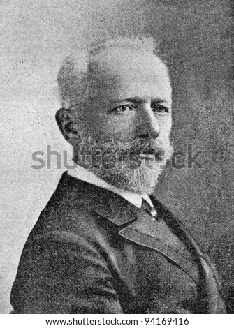 The composer Peter Tchaikovsky