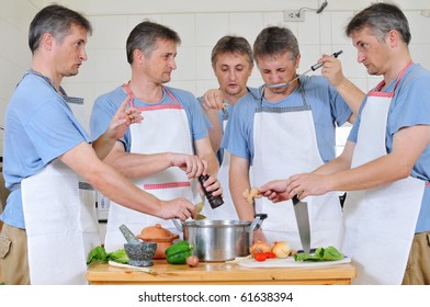 too many cooks in the kitchen images stock photos vectors rh shutterstock com cook in the kitchen original quote cooks in the kitchen manuel ocampo