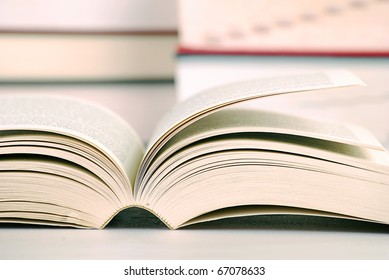 Composition with books