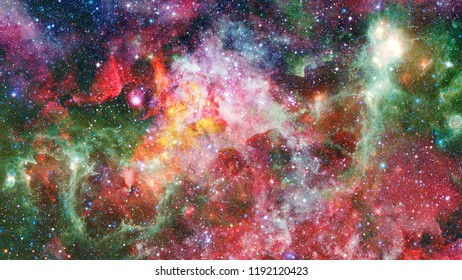 Composition of clouds suitable as a backdrop for the projects on universe, cosmos, astronomy and science. Elements of this image furnished by NASA.