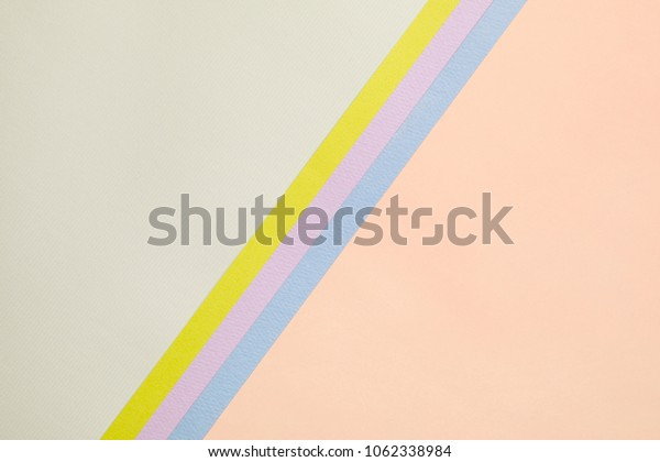 composition of colorful papers for background.