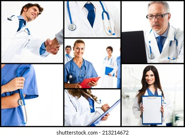 Composition of doctors at work
