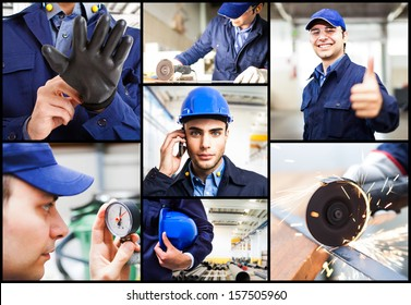 Composition of engineering related images