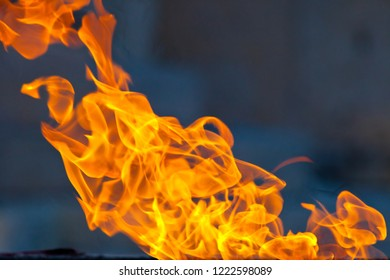 Composition of fire flames