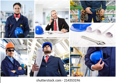 Composition of industrial workers