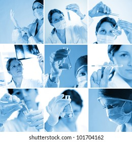 composition of medical images