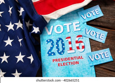 Composition of objects involving presidential election in USA