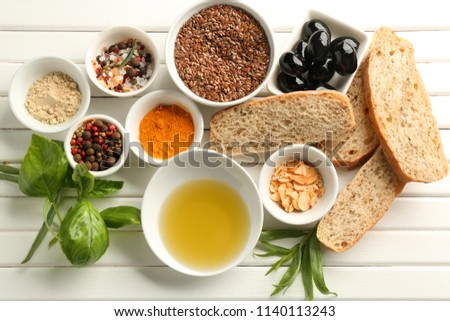 Image result for stock of spices and bread