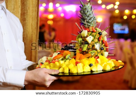 Ananas Buffet composition pineapple buffet stock photo (edit now) 172830905