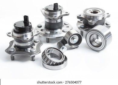 the composition of the three automotive wheel bearing and ABS sensor with slots, with koninicheskim bearing and closed, as well as a belt tensioning pulley system timing engine