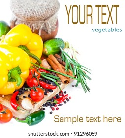 The composition of vegetable