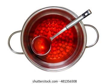 compote of cherries