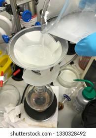 Compound Filtration in Science Laboratory