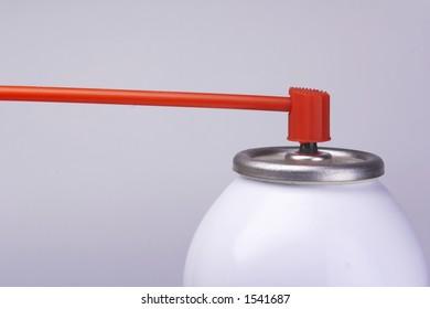 compressed air aerosol