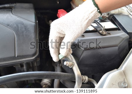 Compressed Air Car Components Be Repaired Stock Photo Edit Now