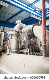Compressor set of refrigerator package in oil refinery plant