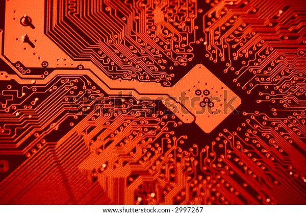 Compter mainboard background texture