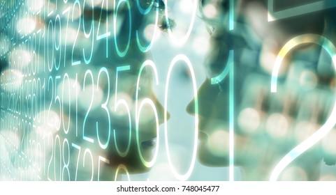Computer big data cybersecurity