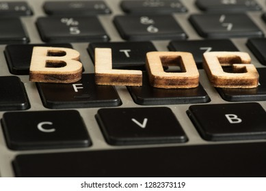 A computer and a blog