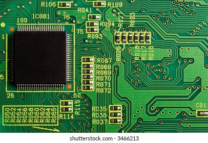 Computer CPU and circuit-board