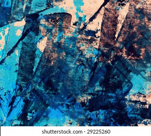 Computer designed high detailed grunge abstract textured background - collage with space for your text.