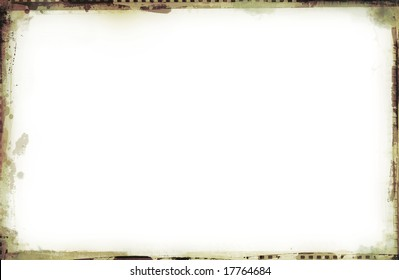 Computer designed highly detailed grunge border with space for your text or image. Great grunge layer for your projects.