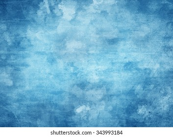 Computer generated abstract artistic background in shades of blue.