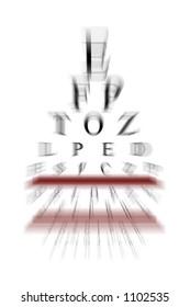 Computer Generated Eye Chart