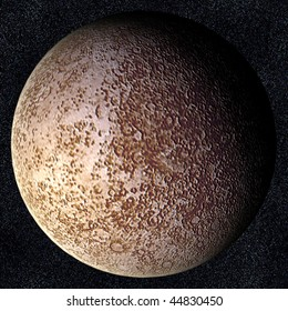 A computer graphic rendering of Mercury