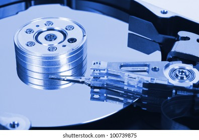 Computer hard disk - technology background