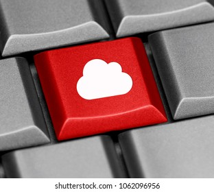 Computer key - in the cloud