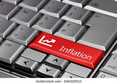 Computer key - inflation
