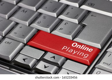 Computer key - Online Playing