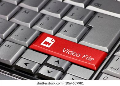 Computer key - video file