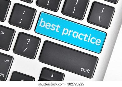 The computer keyboard button written word best practice.