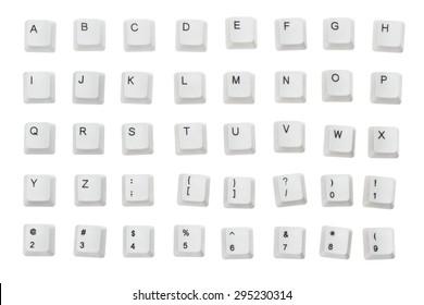Computer Keyboard, Computer Key, Alphabet.
