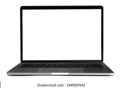 computer laptop isolate on white background