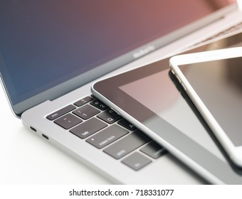Computer laptop tablet phone electronic smartphone
