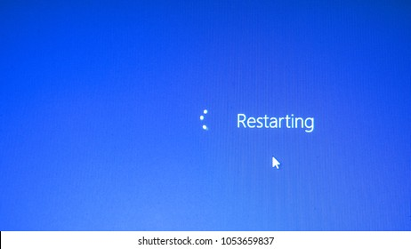 Computer marks are restarting.
