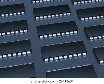 Computer microcircuit