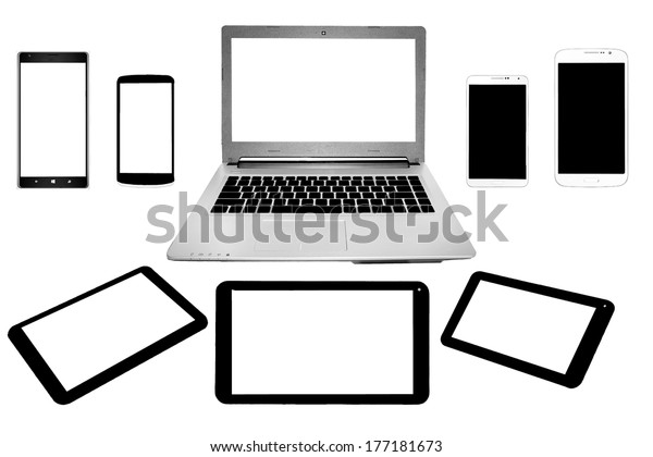 Computer and Mobile Phone